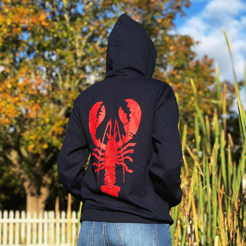 Giant Lobster Adult Hoodie