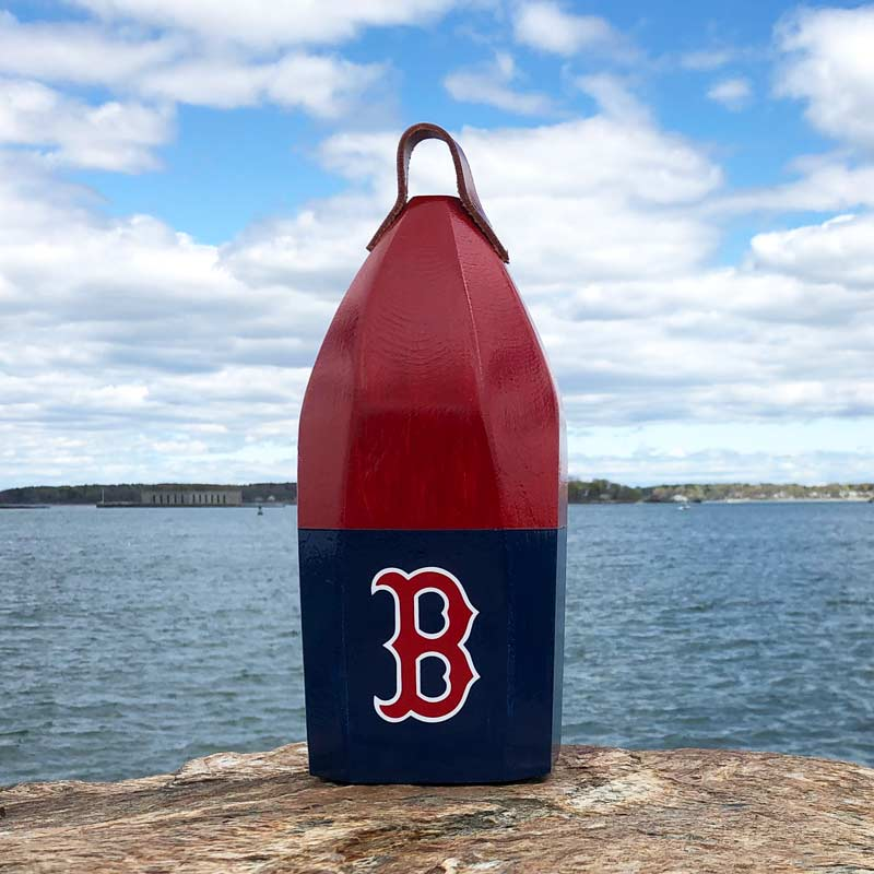 Large, Red Sox, Buoy Centerpiece.