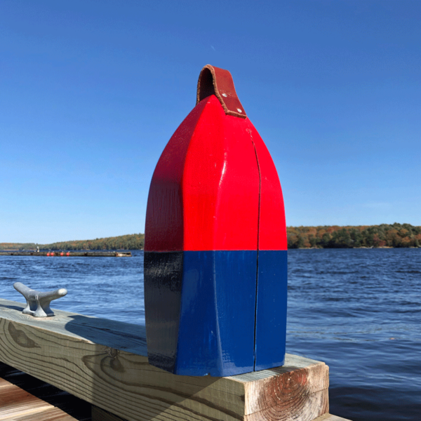 Large Red Sox Buoy Centerpiece