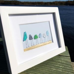 Sea Glass Frame -Family of 6