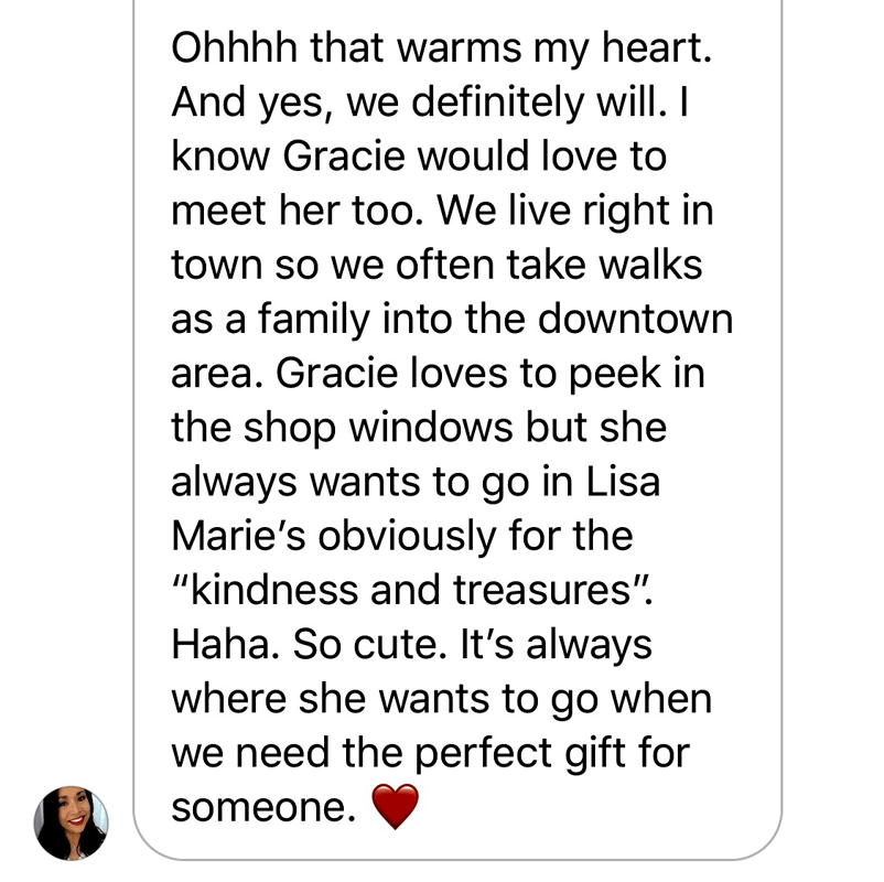 Gracie's 2019 Gift to Us