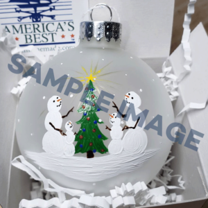 Custom Ornament for Melissa Foshay