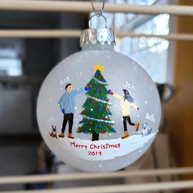 Beth Doan's 2019 Custom Ornaments
