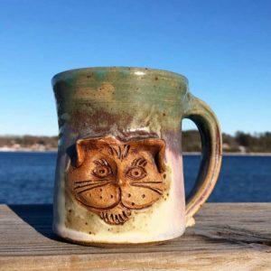 Cat Mug 1 | Westport Island Pottery