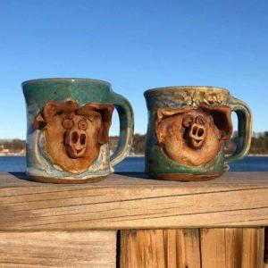 Pig Mug by Westport Island Pottery