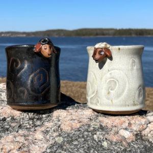 Sheep Mug by Westport Island Pottery