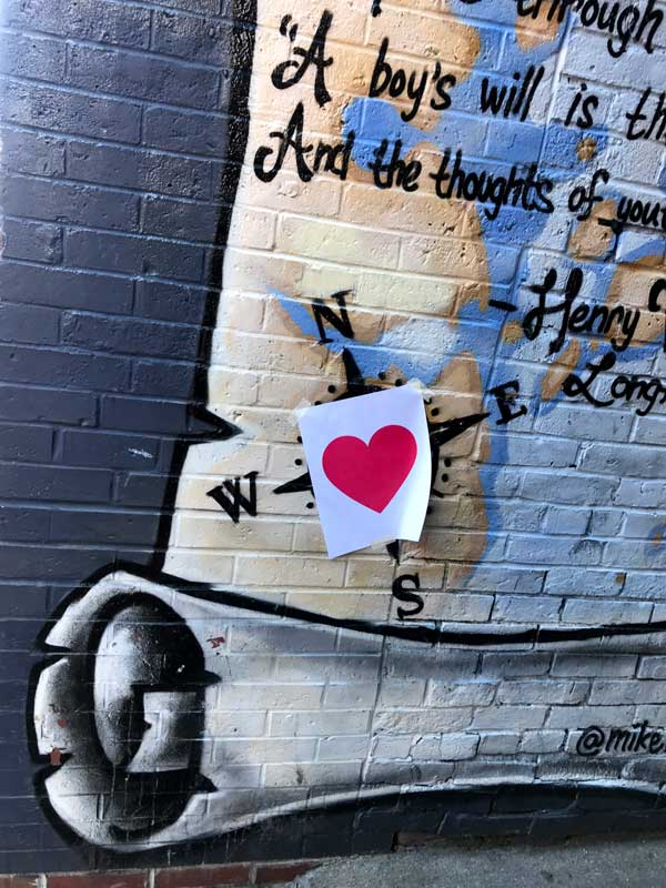 Valentine's Day Bandit 2020 | Longfellow Poem