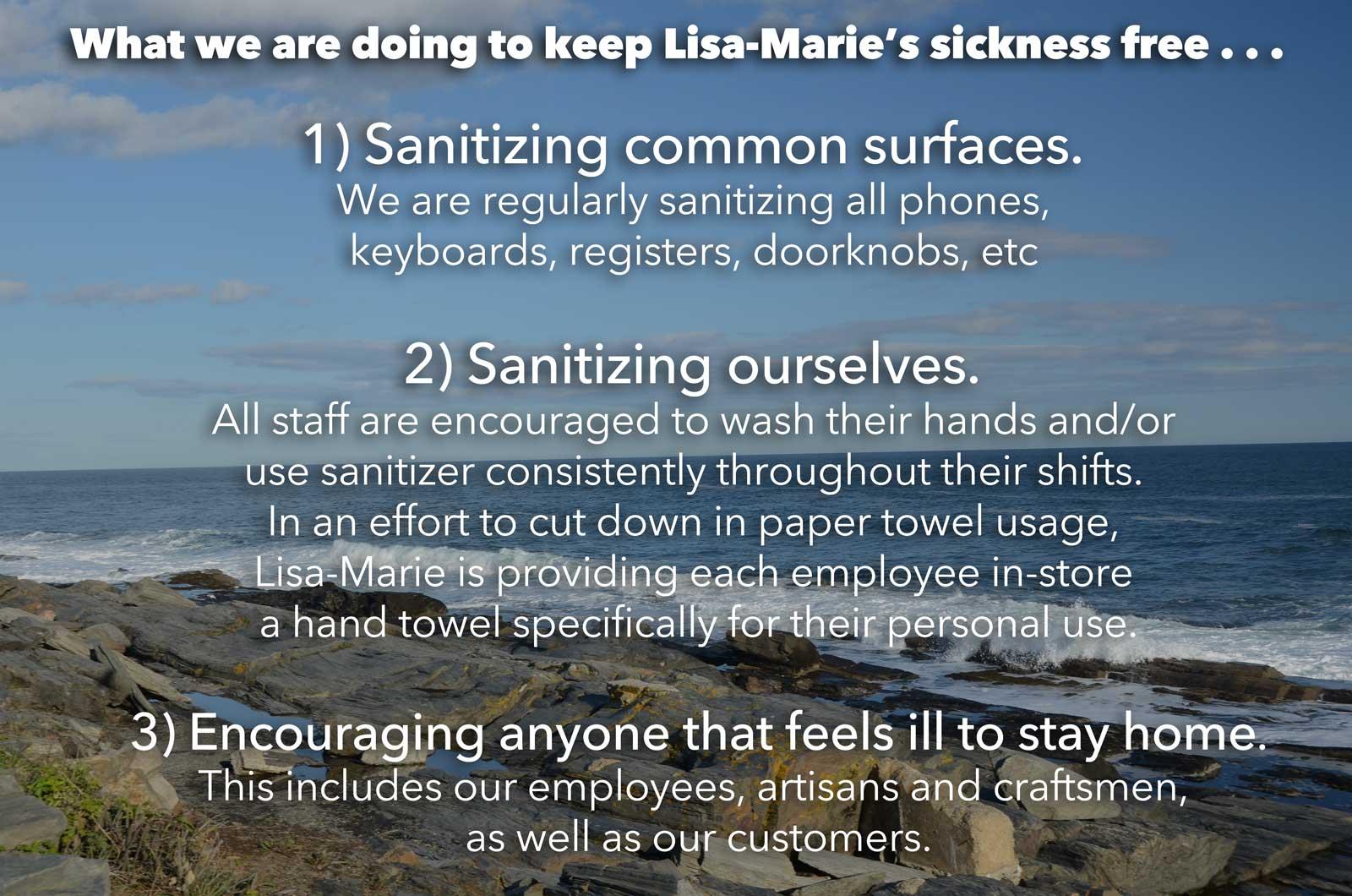 Keepin' it clean at Lisa-Marie's