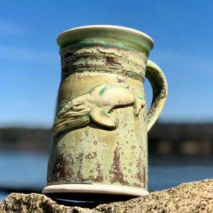 Devenney Pottery Whale Mug