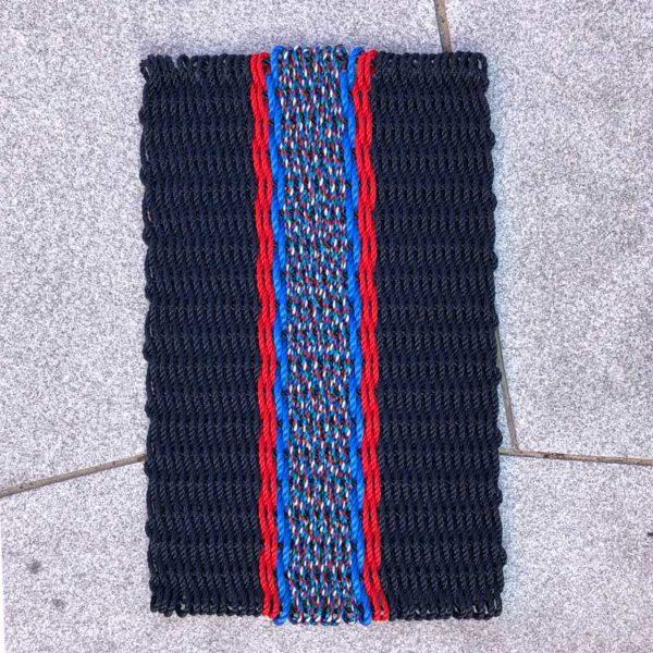 Navy, Red & Blue Lobster Rope Doormat