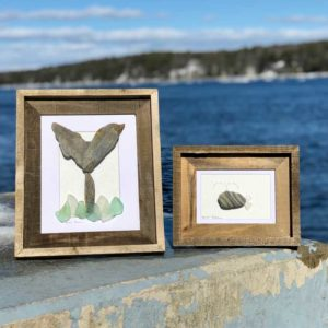Mainely Tidal Whale Art