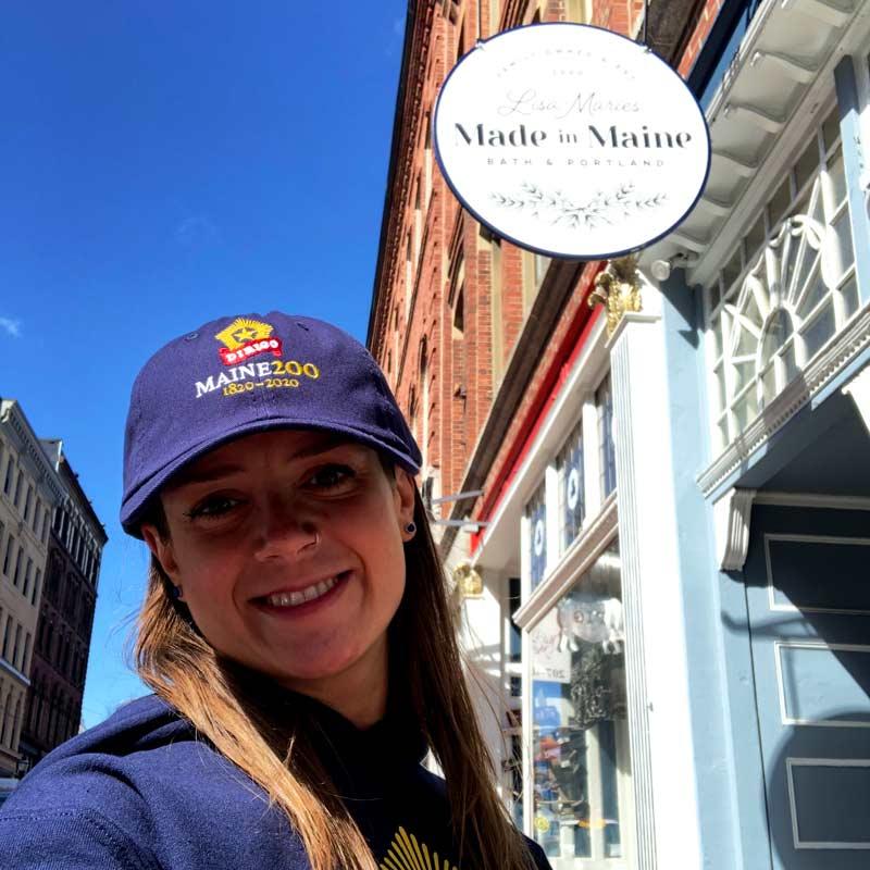 Maine Bicentennial Hat