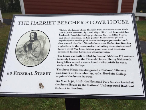 Harriet Beecher Stowe House, Brunswick, Maine