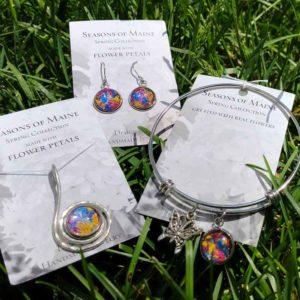 Maine Flower Petal Mix Jewelry