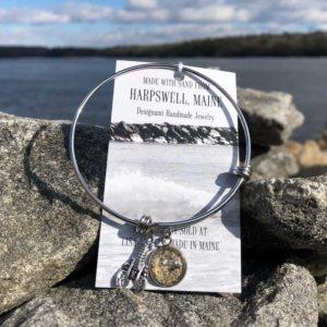 Harpswell Beach Sand Bangle Bracelet