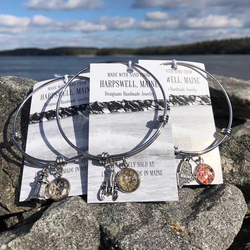 Harpswell Sand Bangle Bracelet