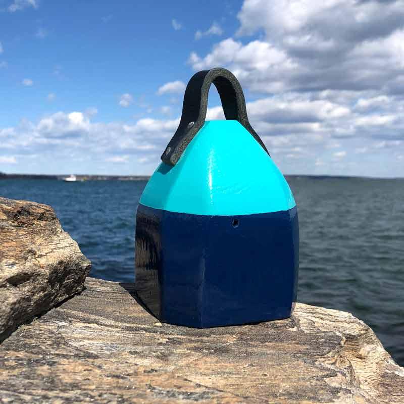 Navy Blue & Teal Lobster Buoy Centerpiece