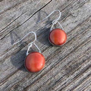 Auburn Glass Earrings
