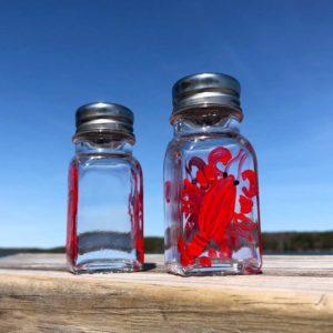 Lobster Salt & Pepper Shakers.