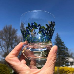 Blueberry, Juice Glass.