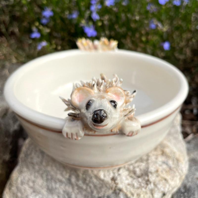Hedgehog Dip Dish