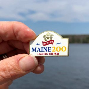 Maine Bicentennial Pin.