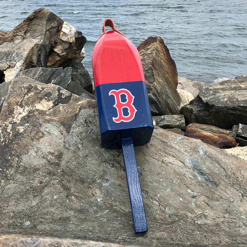 Large, Red Sox Buoy.