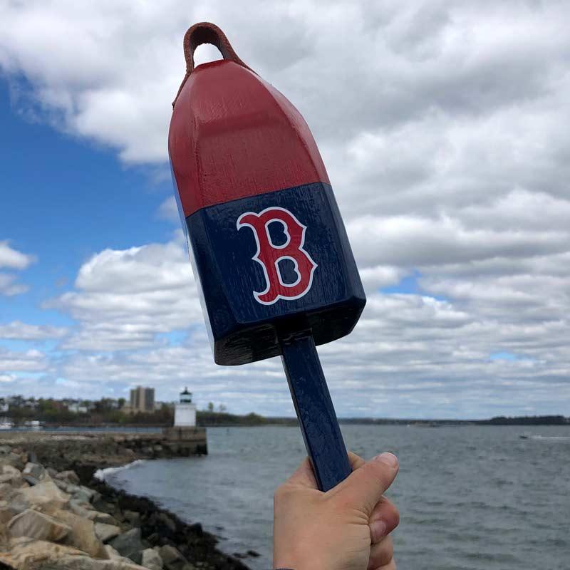 Small, Red Sox Buoy.