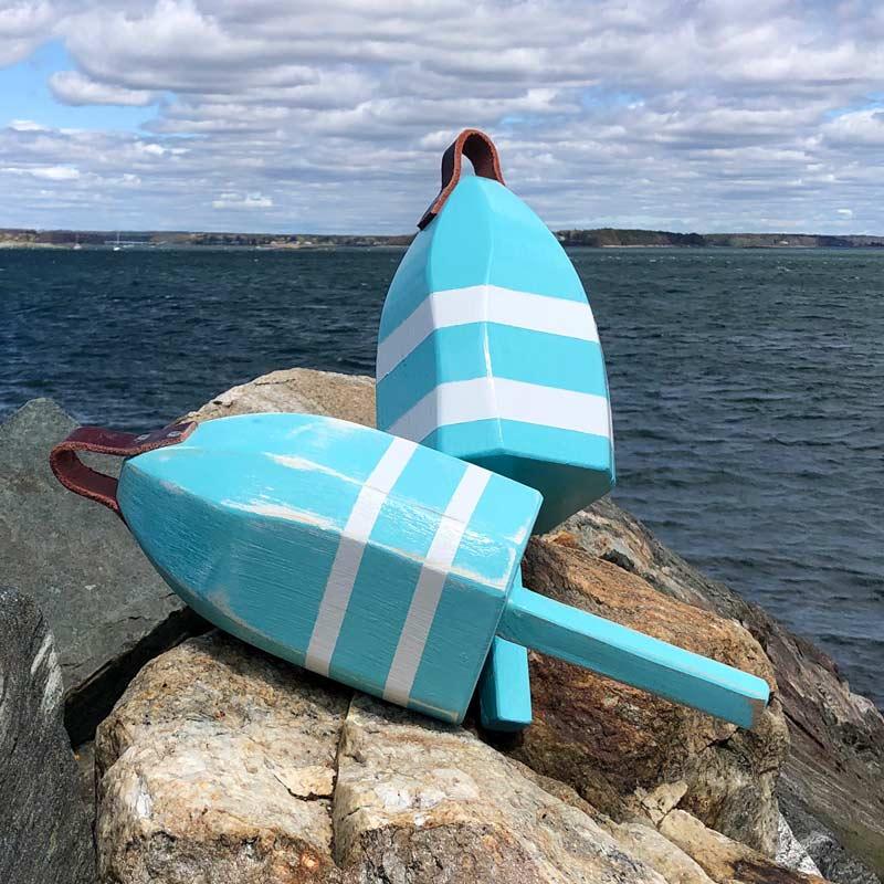 Sea Foam & White Lobster Buoy