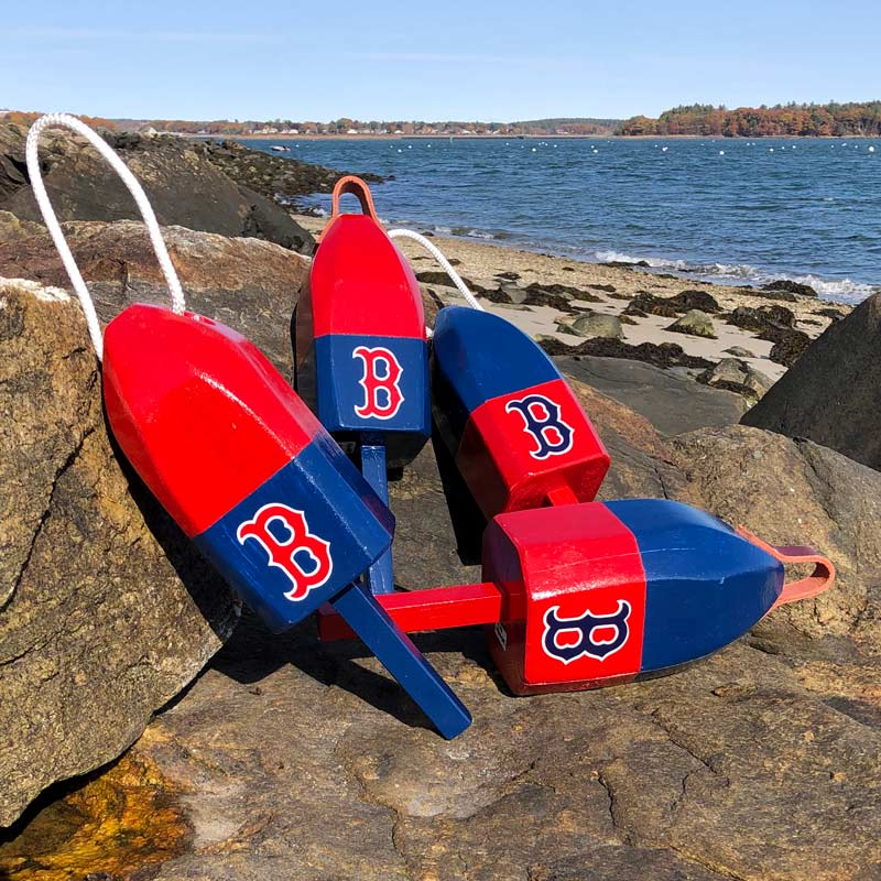 Small Red Sox Buoy