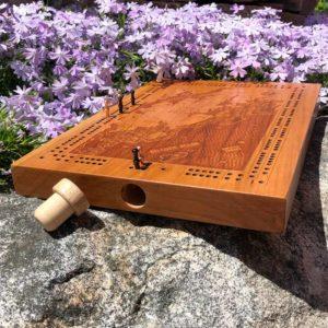 Tenant's Harbor Cribbage Board.