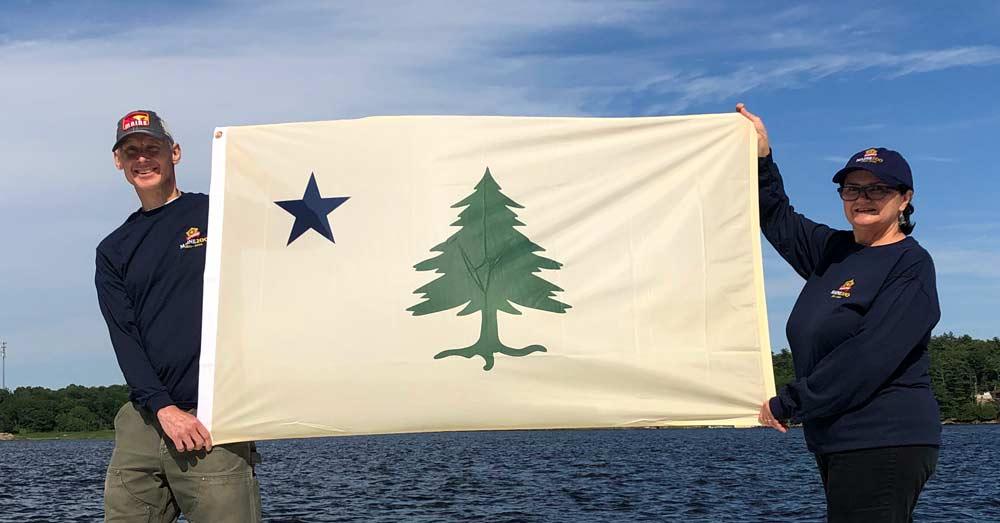 One Flag, Two Flags, White Flag, Blue Flag