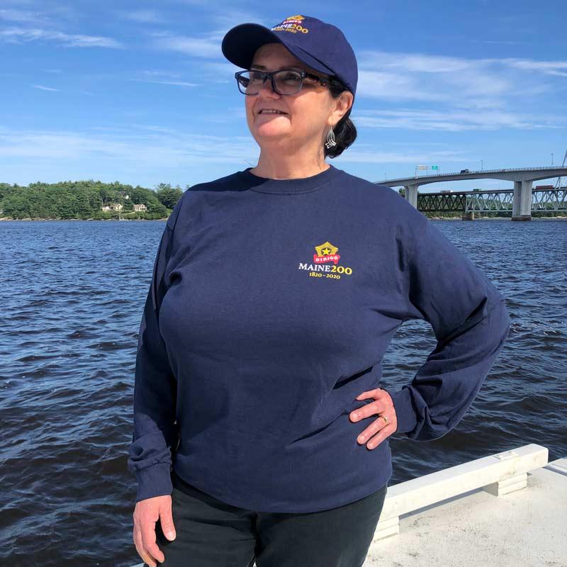 Maine Bicentennial Long Sleeve Shirt