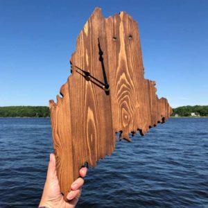 State of Maine Clock