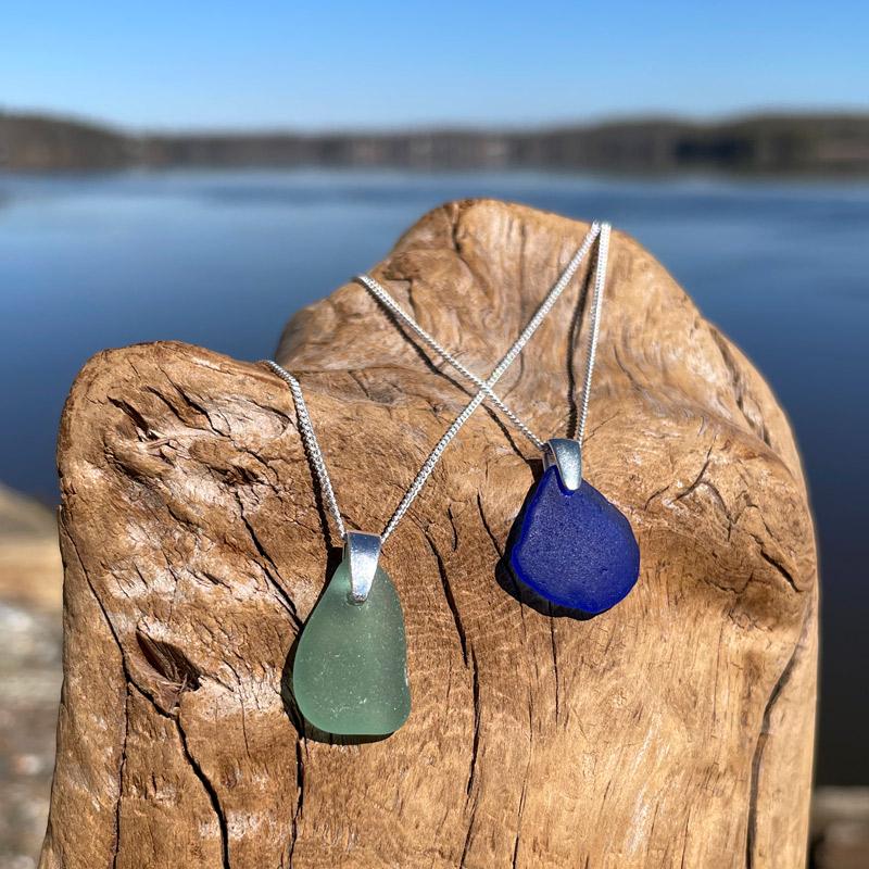 Sue's Signature Sea Glass Necklaces