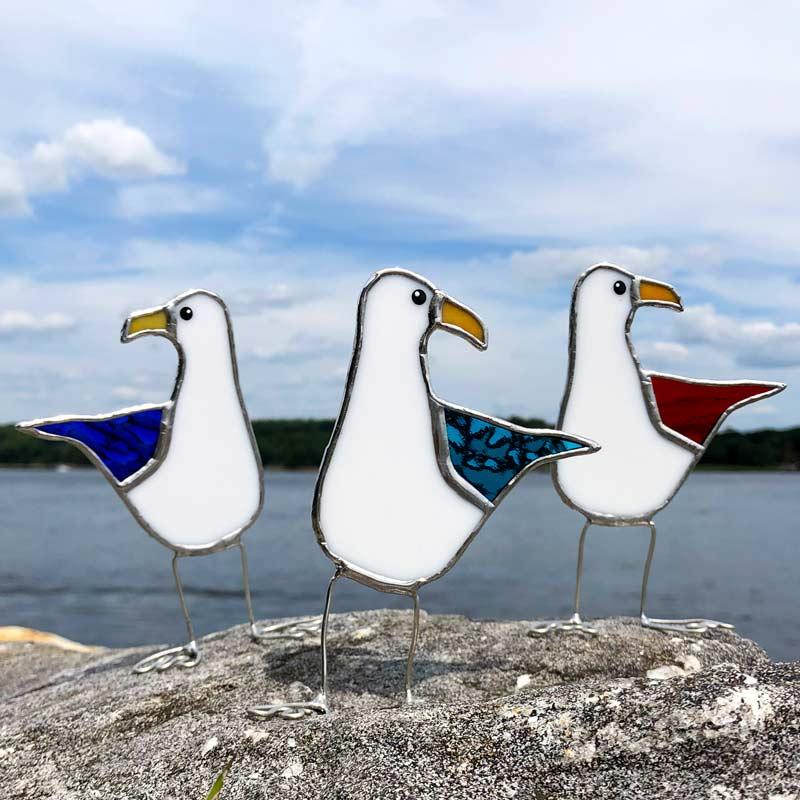 Colored Wing Sea Gull