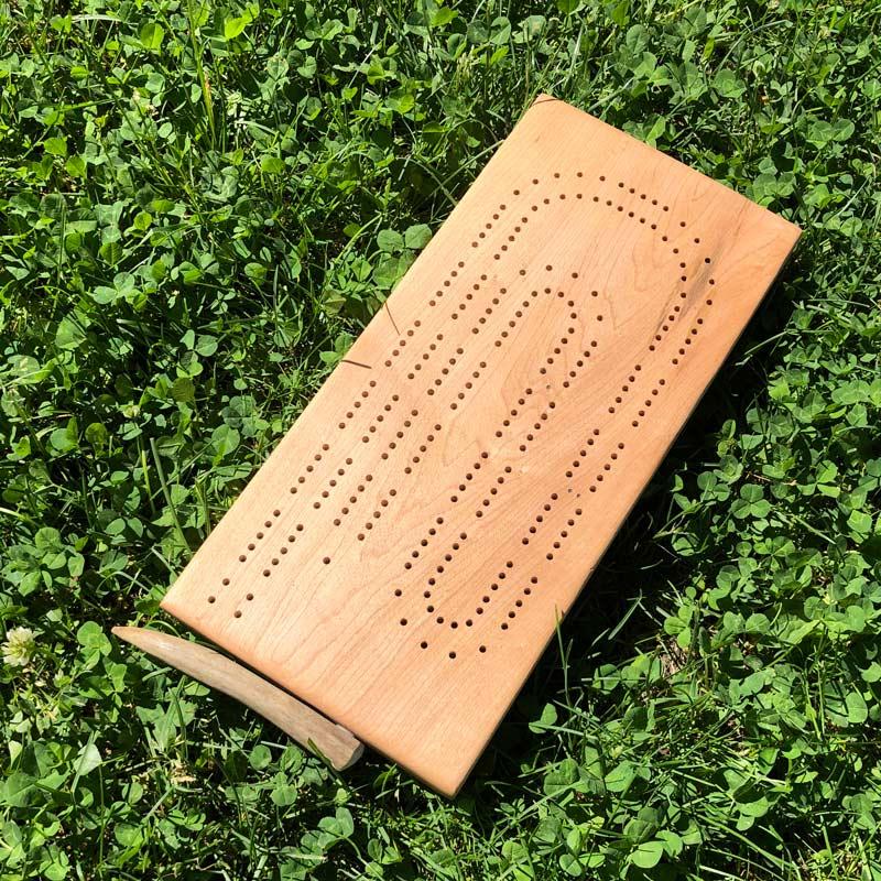 Deer Antler Cribbage Board