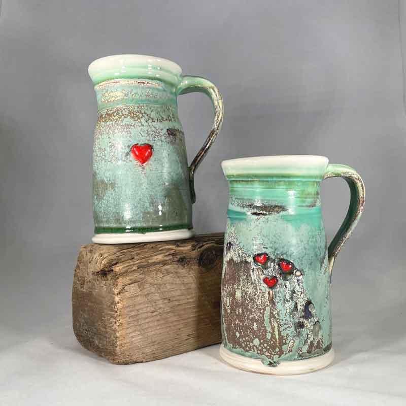 Heart Ale Mug