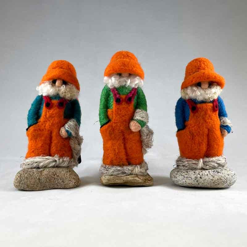 Orange Overalls Fishergnomes
