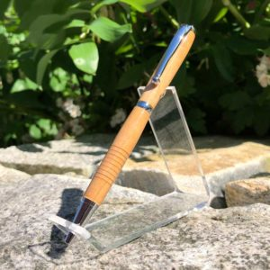Maine Yellow Birch Pen - Chrome