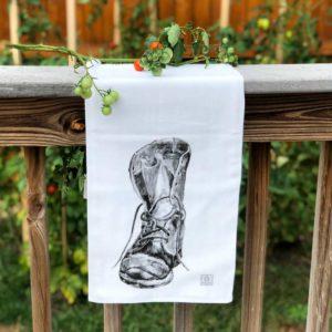 Boot Tea Towel
