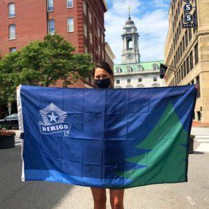 Dirigo Flag, Maine 200 Flag