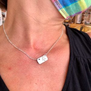 Star & Pine Tree Necklace