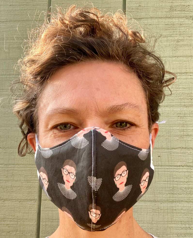 Ruth Bader Ginsburg Mask