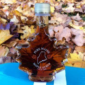 3.4oz Maple Syrup Leaf