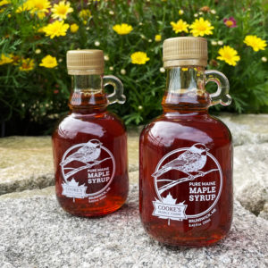 Maple Syrup Jugs by Cooke's Maple Farm