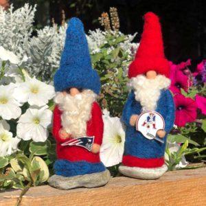 New England Patriots Gnome