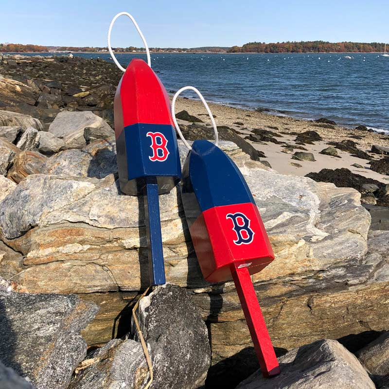 Large Red Sox Buoy with Rope