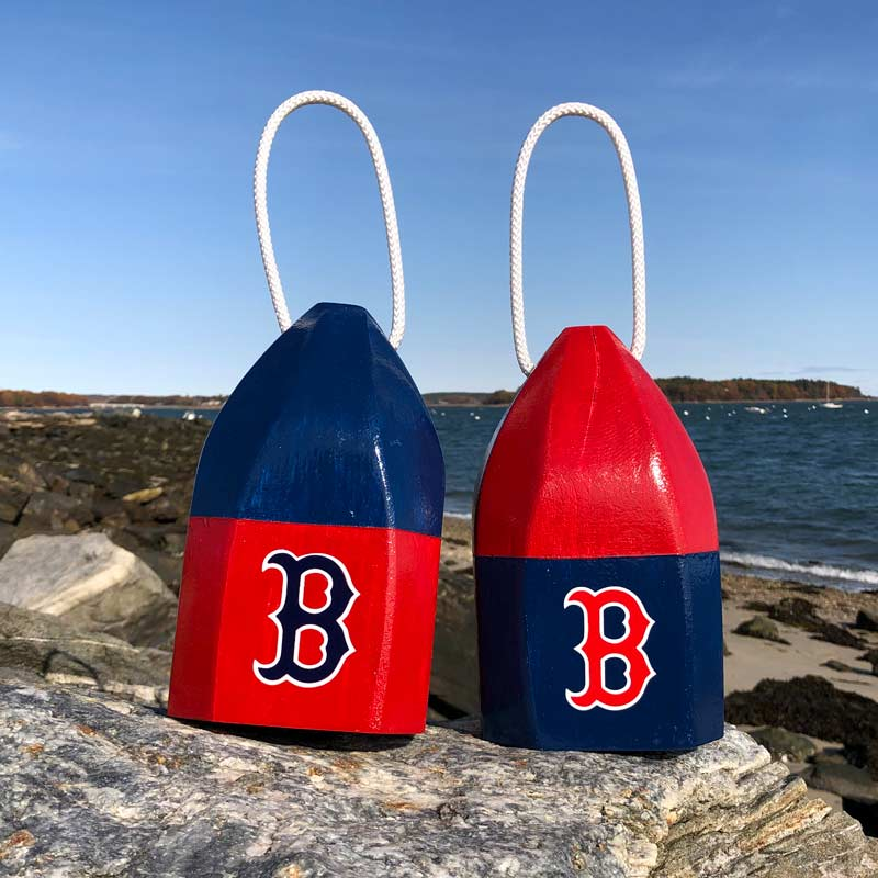 Small Red Sox Buoy Centerpiece