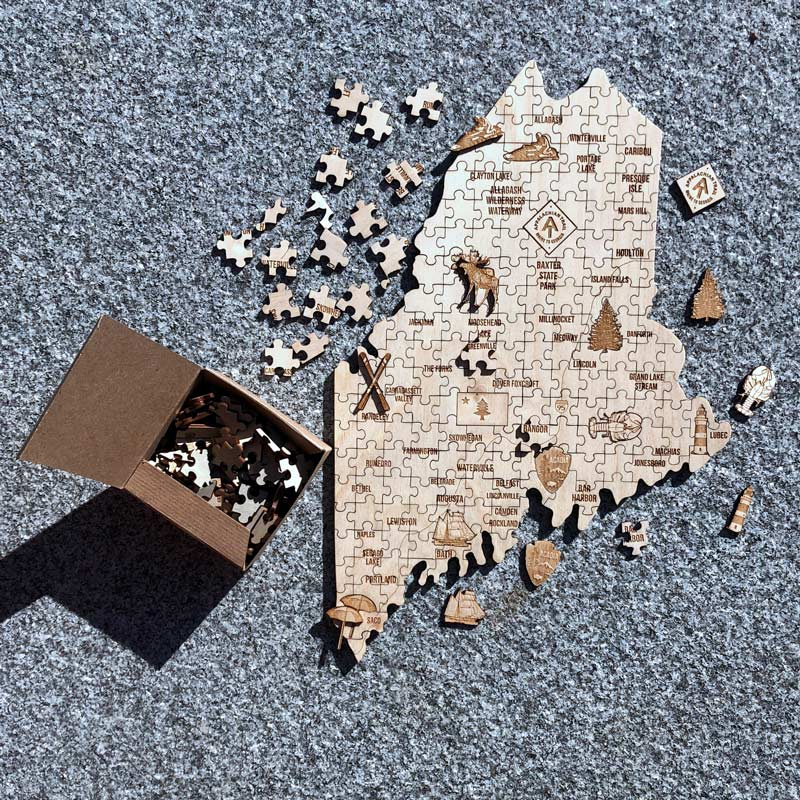 State of Maine Puzzle